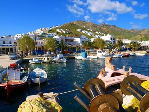 Serifos Greek Ferry guide - DANAE Greek Travel Services Online