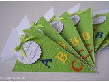 Weiteres - ~ Einladung Einschulung, Schulanfang Schultüte ~ - ein Designerstück von papierlook bei DaWanda