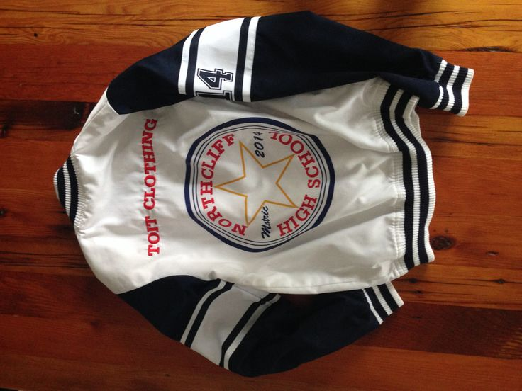 Converse style bomber jacket. #bytoit #converse #matric