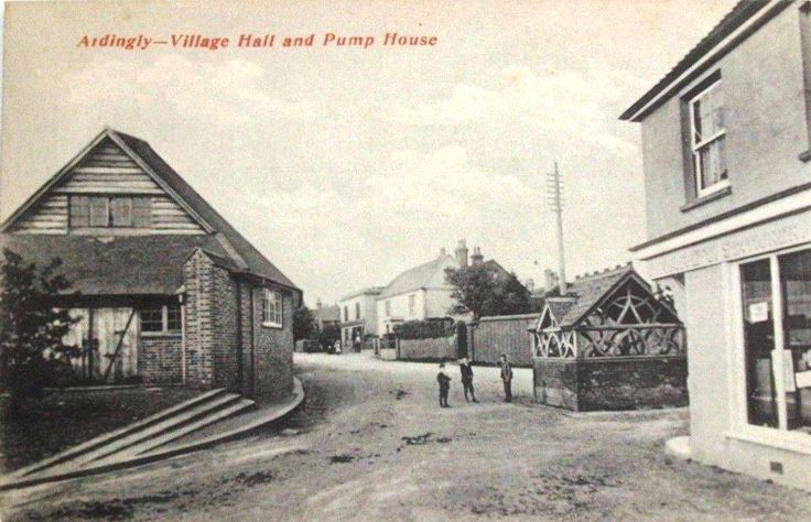 Ardingly Village Hall and Pump House  (Credit: uploaded from facebook, Brian Prevett)