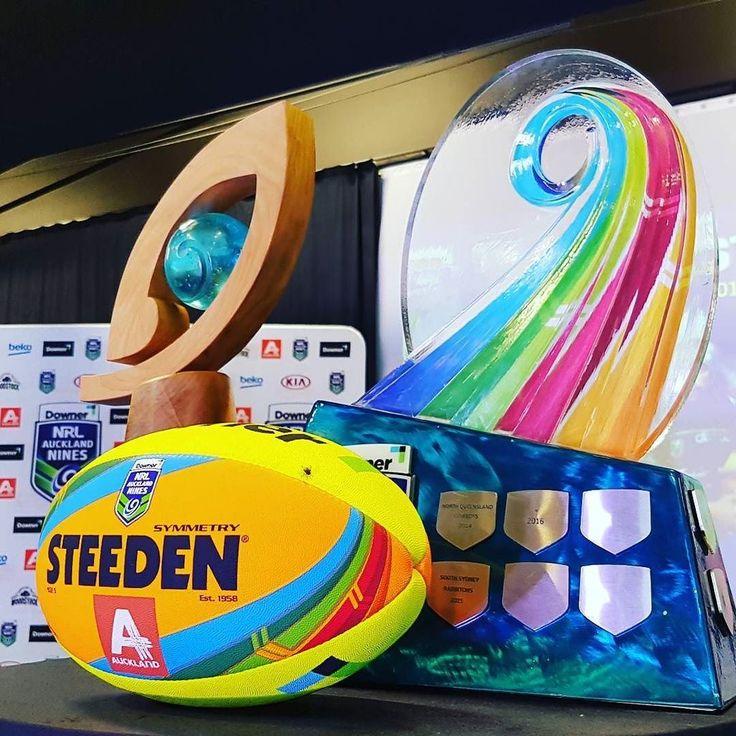 NRL 9's 2017 Piha Pool Warriors Dragons Sea Eagles Eels