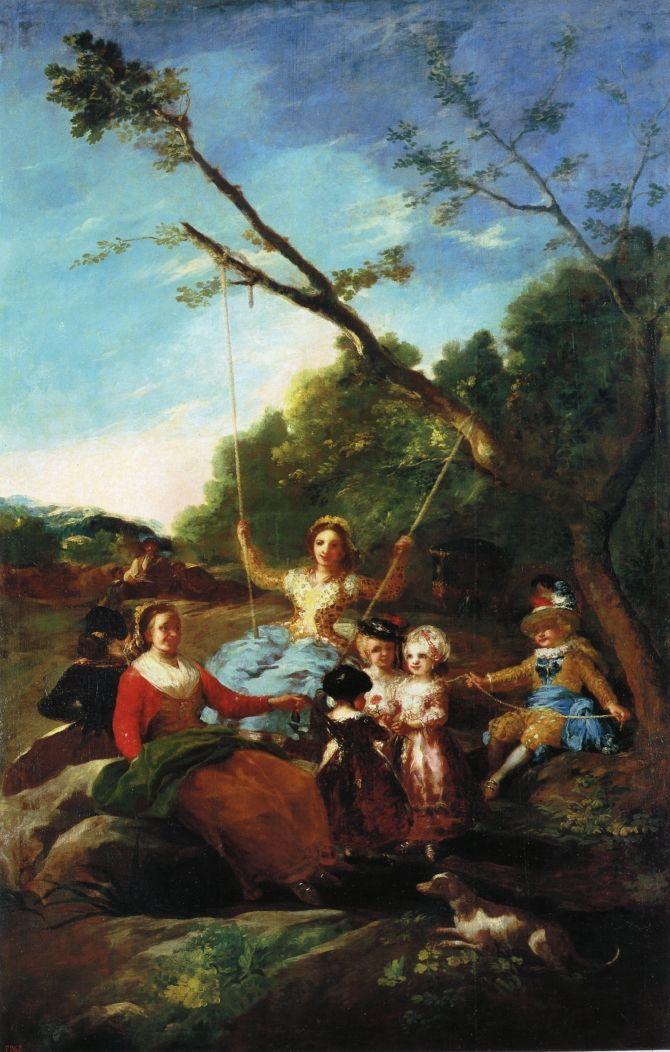 The Swing - Francisco Goya