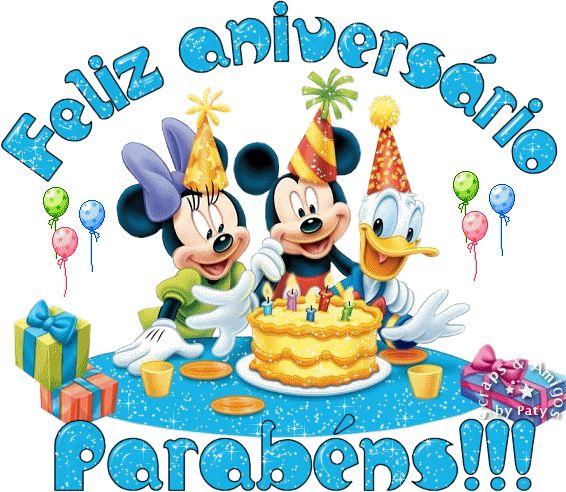 Gifs de Aniversário , Feliz Aniversário, Gifs de Parabéns, Happy Birthday Gif - CANTINHO ENCANTADO