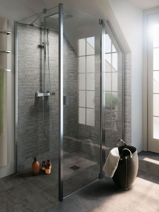 10 meilleures id es propos de porte de douche pivotante sur pinterest portes pivotantes. Black Bedroom Furniture Sets. Home Design Ideas