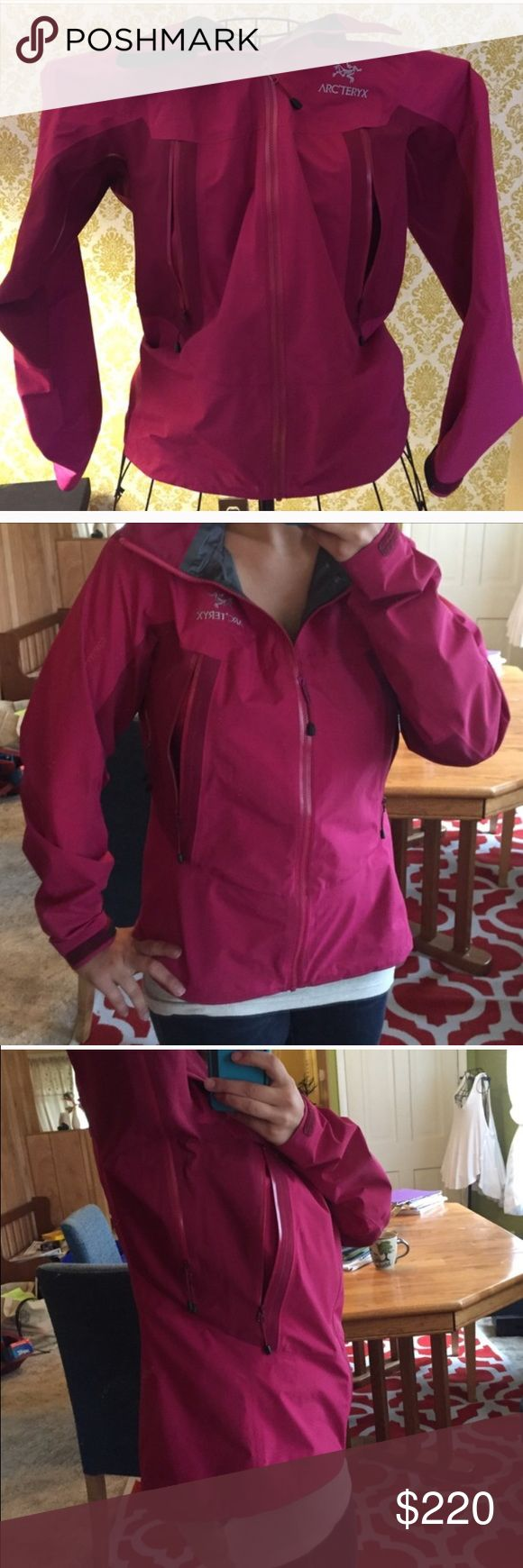Arc'teryx Beta LT hoodie size medium No flaws like new condition I have too many jackets and must downsize! This is best brand ever! I believe this is the beta light will check online too see for sure, retails for 525 new!! Arc'teryx Jackets & Coats