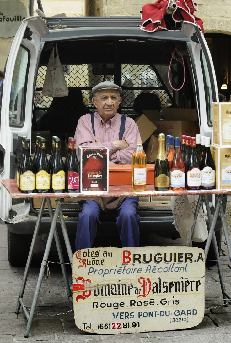 AFAR.com Highlight: Market in Uzes, France by Mickey Welsh