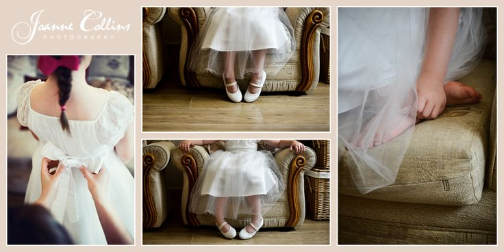 Chilham Castle Estate Wedding Photographer flowergirls shoes and dress