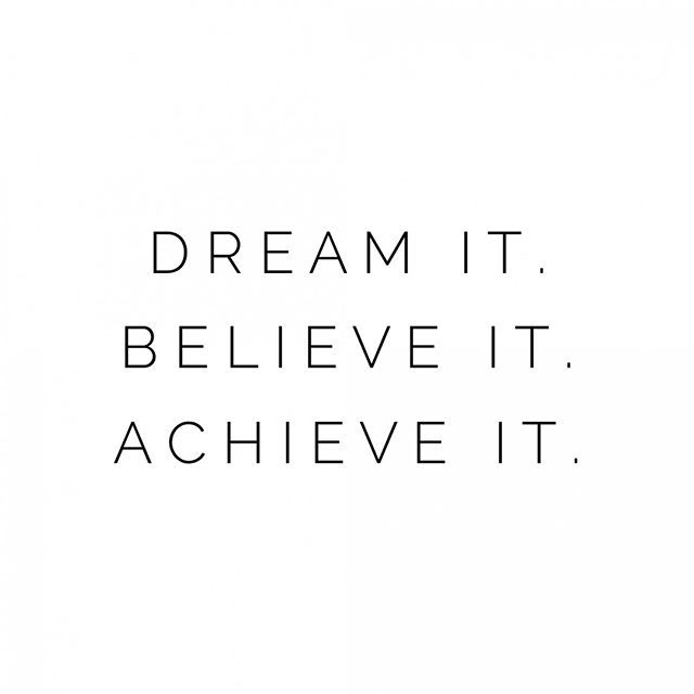 Dream It Believe It Achieve It Darling You Are Amazing And Are Capable Of Doing Beyond What You Can Think Or Imagine You Are Amazing Believe Achievement