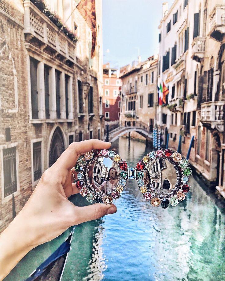 Dolce & Gabbana sunglasses in Venice