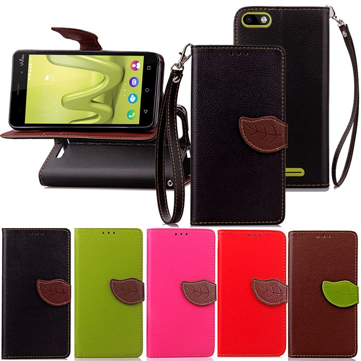 Leaf Buckle Case Covers For Wiko Lenny 3 Jerry K-kool K Kool III Lenny3 Flip Wallet PU Leather With Card Slots Stand Cases Shell