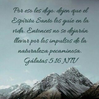 Galatas5:16
