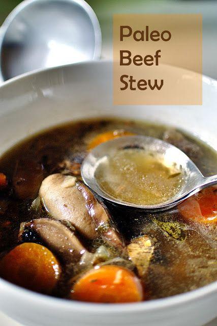 Paleo Beef Stew (AIP, SCD, NSD, Paleo, Gluten-free).Autoimmune Paleo Diet. Printable recipe here: http://www.sana-direct.co.nz/sana/images/Beef_Stew.pdf