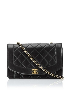 Chanel Quilted Evening Bag