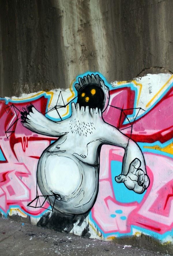 wall works 2008-2012 by comolo , via Behance
