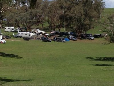http://www.amazonoutdoors.com.au/blog/n/a-wide-view-of-the-camp-site-at-the-jim-taylor-memorial-shoot-near-mudgee-140331 This is a wide view photo of the camp site. Just in front you can see 2 Oztent RV5 tents set up side by side and to the right of those is an RV3 with a Foxwing Awning and also just behind the RV3 is a Jet Tent F-25X. Click here http://www.amazonoutdoors.com.au/blog/n/a-wide-view-of-the-camp-site-at-the-jim-taylor-memorial-shoot-near-mudgee-140331