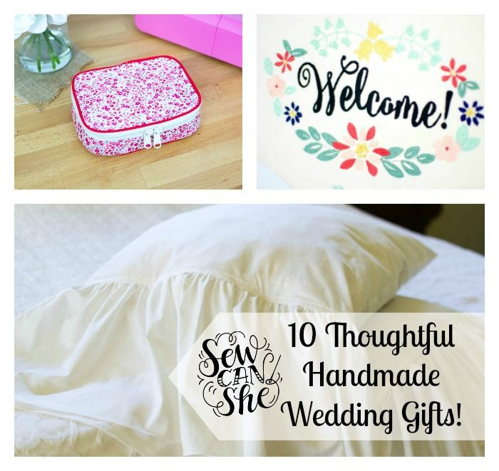 Thoughtful Wedding Gift Ideas: 10 Thoughtful Handmade Wedding Gift Ideas!