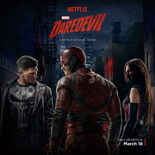Watch a new Netflix ensemble cast promo for the second season of Marvel's Daredevil TV show. Season two drops tomorrow. Do you plan to binge on this superhero drama, or ration out the episodes?