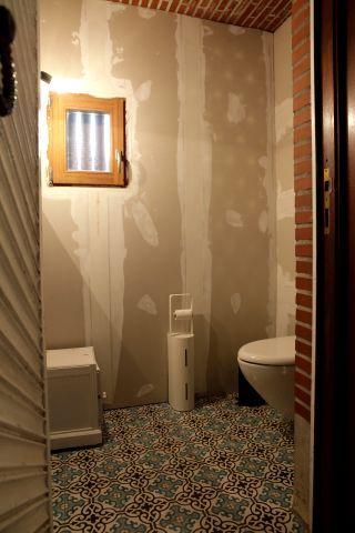 Cement tiles - Project De Coninck - Toilet