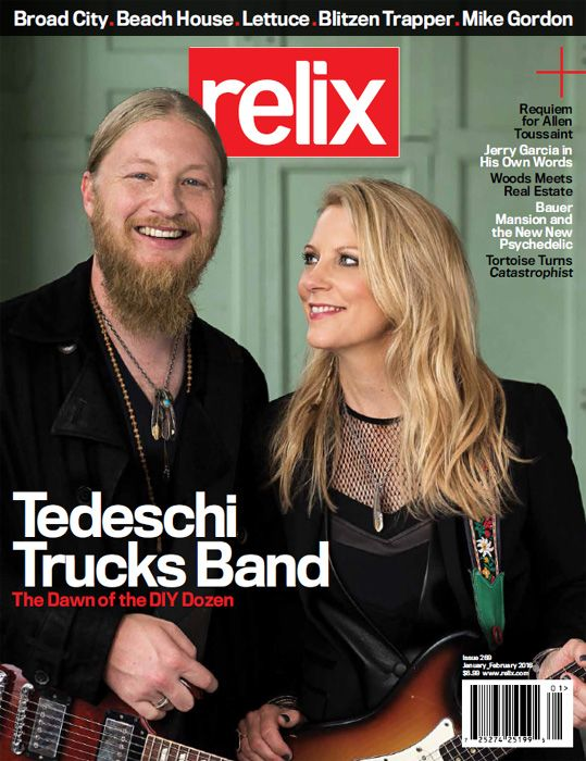 Tedeschi Trucks Band Bassist Tim Lefebvre Reflects on Recording with David Bowie : News : Relix