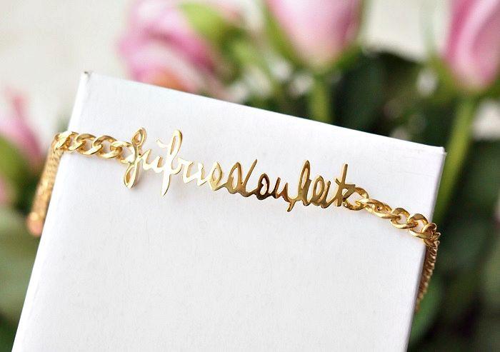 handwritten jewelry