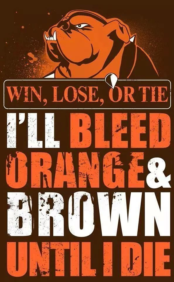 Bleed orange and brown
