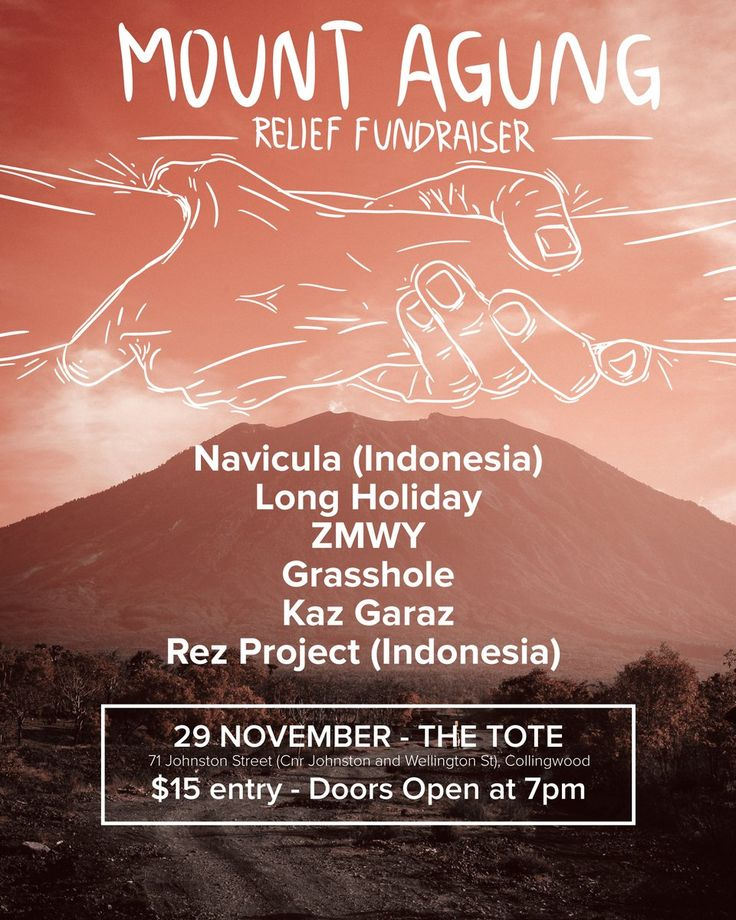 Kopernik and @naviculamusic will join hands for a fundraiser to support the urgent needs of more than 25,000 Mt. Agung evacuees. Melbourne 29 Nov 2017 https://web.facebook.com/events/1366346963494652/