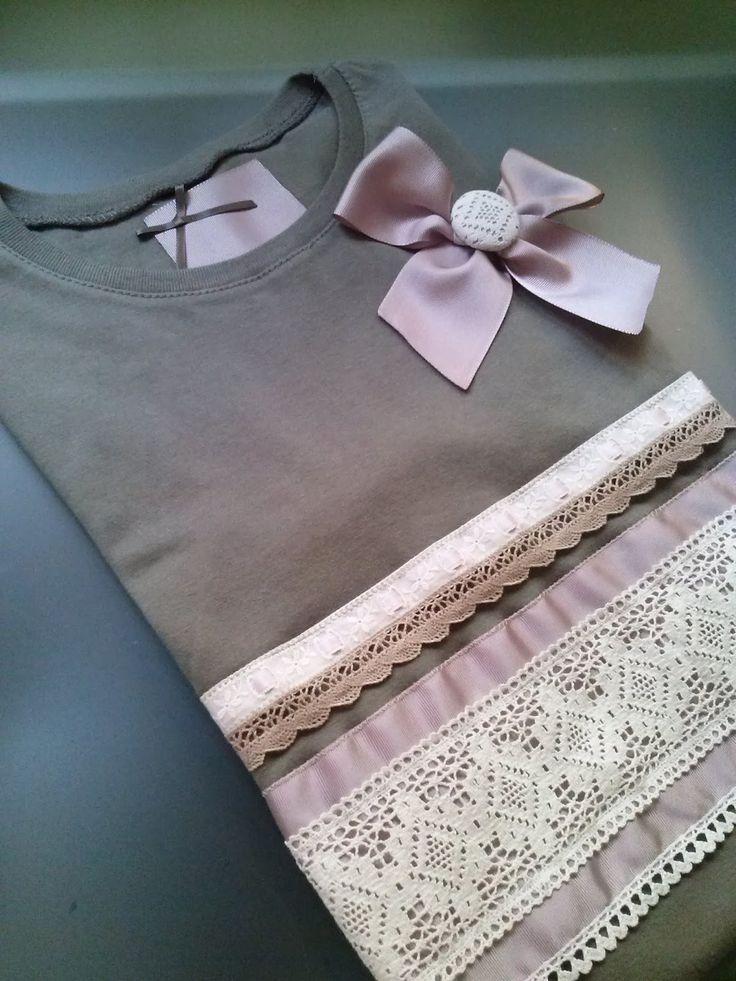 Aqui os dejo nuevos modelos de camisetas     Marino con encajes      Roja manga larga encajes      Gris manga larga zapatos de leopardo     ...