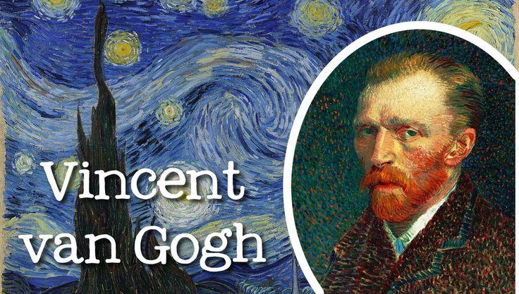 Vincent van Gogh for Children. Vincent van Gogh explicado a los niños. #biography #van Gogh