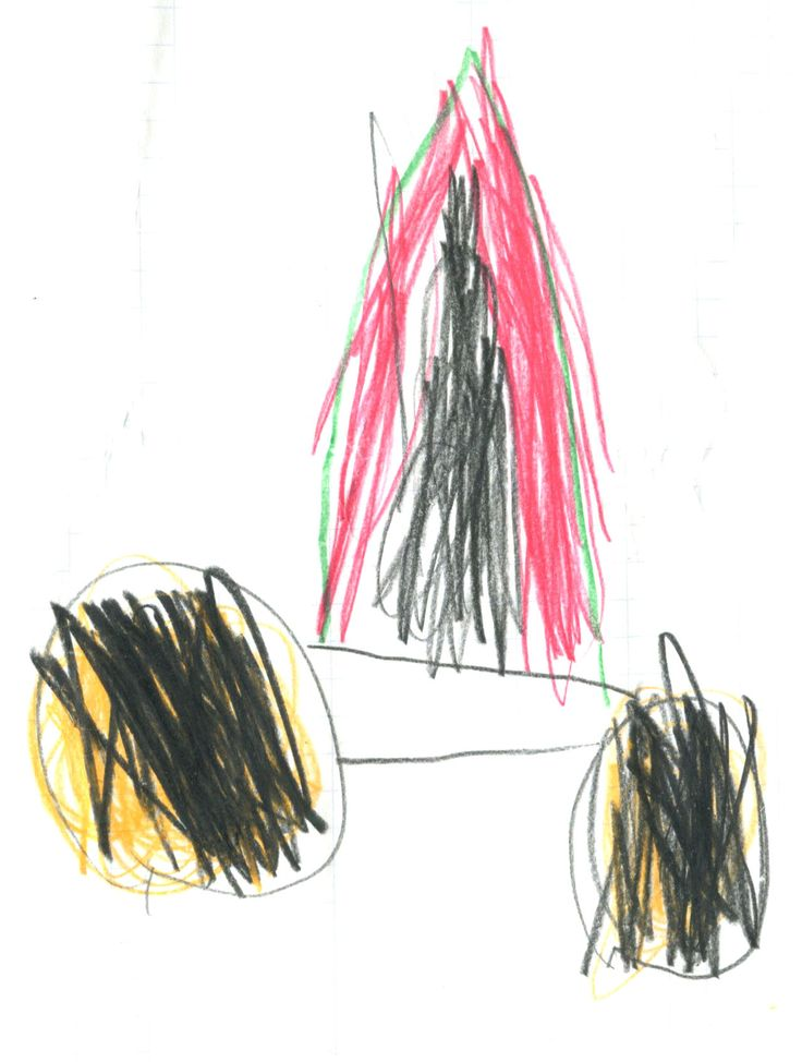 space rocket by my son - Angi