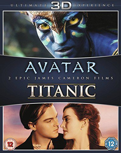 $30.00 James Cameron's Avatar / Titanic Blu-ray 3D Double Pack 2...
