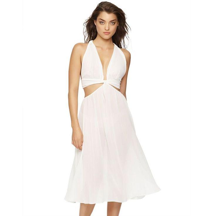 Women's Jezebel Luna Goddess Nightgown, White Oth