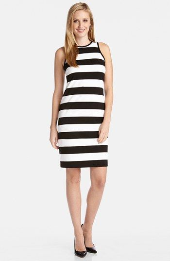 Karen kane black and white dress