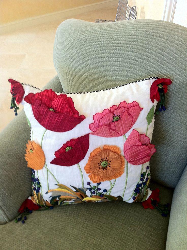 Mckenzie Childs Pillow for applique inspiration