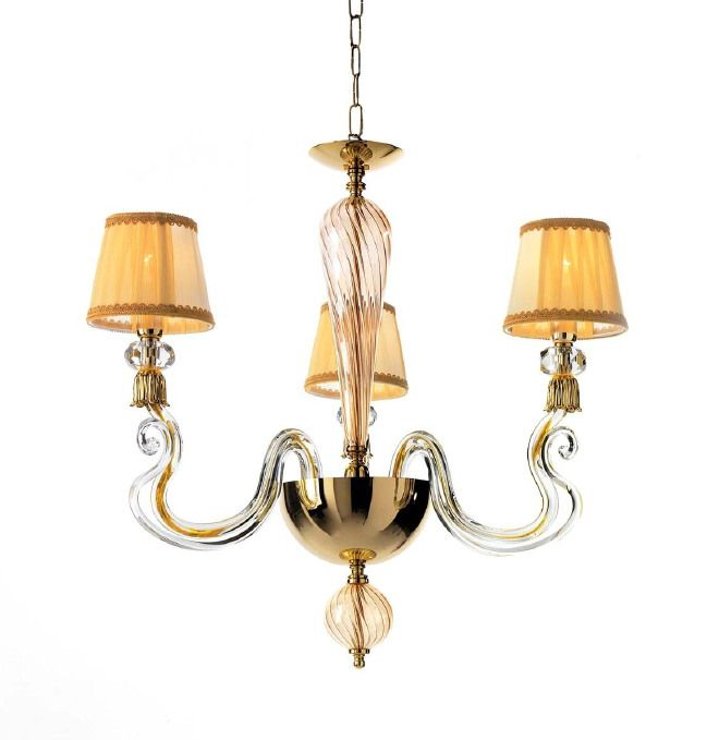 ciciriello lampadari : LAMPADARIO 3 LUCI collezione PETUNIA di Ciciriello Lampadari