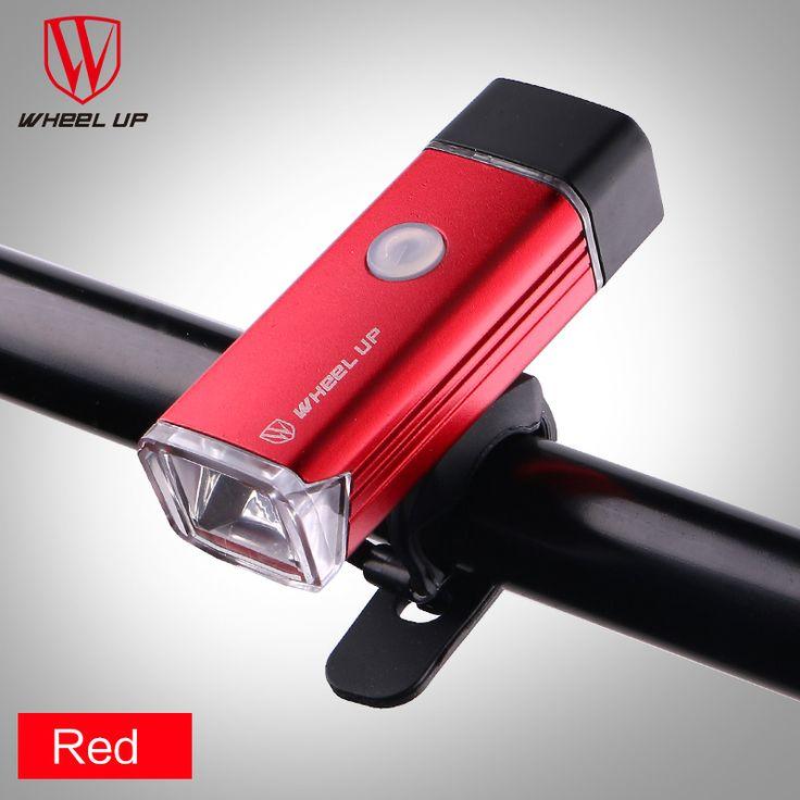 Wheel Up Bicycle Light Headlights Light Flashlight USB Charging Mountain Bike Lights Cycling Equipment #Affiliate
