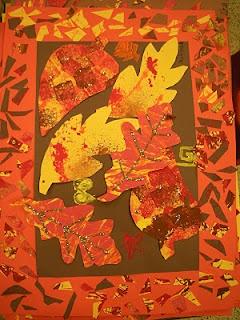 Artolazzi: Fall Leaf Collage