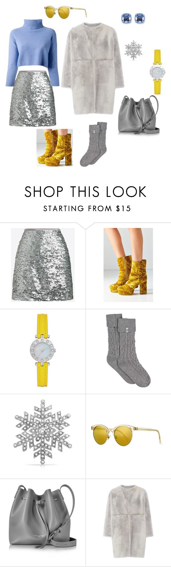 """""""Set 3"""" by natucsya on Polyvore featuring мода, J.Crew, nenette, Urban Outfitters, UGG, Bling Jewelry, Oliver Peoples, Lancaster и Karl Donoghue"""