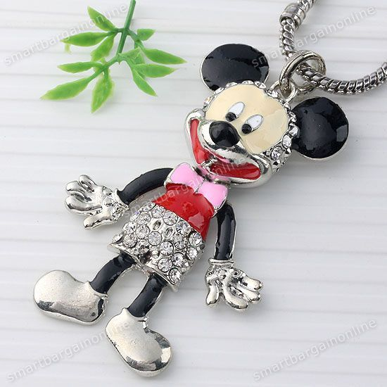 Umm.. Mickey Mouse?!?  This'd FREAK my kids out!! It's kinda freakin me out, too....
