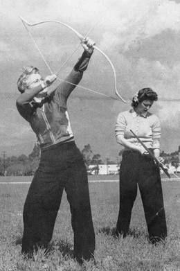 Matilda ''Babe'' Bitzenburger | 4-time National Field Archery Association Champion - 1946, 1947, 1948 and 1949.