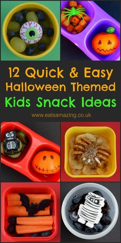 1277 best back to school images on pinterest healthy for Easy fun halloween treats for school
