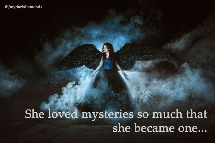 She loved mysteries so much that she became one ... Mehr auf www.bittersweet.de #mydarkdiamonds #fantasy #romance