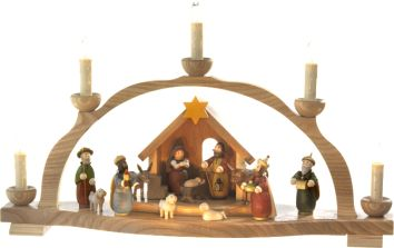 "Käthe Wohlfahrt - Online Shop | ""Stern über Bethlehem"", Schwibbogen (230 V) | Rothenburg ob der Tauber"
