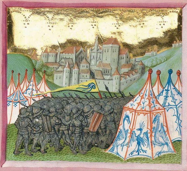 Furtmeyr-Bibel (Deutsche Bibel, Altes Testament, Bd. 1: Genesis - Rut) um 1468 - 1470 Sign. Cod.I.3.2.III (Oettingen-Wallersteinsche Bibliothek) Folio: 338r