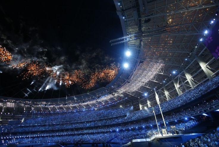 Церемония открытия первых Европейских игр // НТВ.Ru