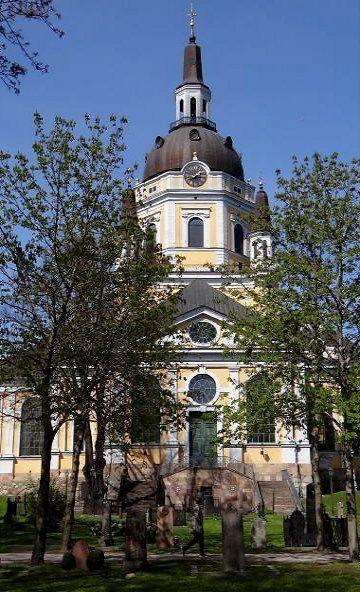 Katarina kyrka (Church) at Sodermalm - Stockholm, Sweden