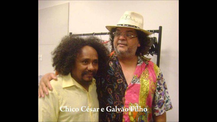 Chico César e Galvão Filho cantam    A janela do sol poente