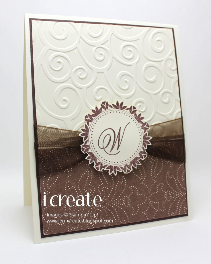 so simple... WOW!Wedding Cards, Beautiful Cards, Cards Ideas, Cards Stampin, My Cousins, Handmade Cards, Greeting Cards, Cards Inspiration, Cards Templates
