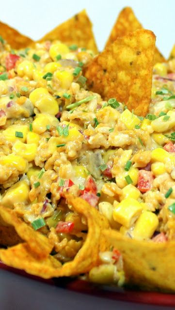 Doritos Taco Corn Salad -  Church PotLuck Side Dish  This is a classic recipe from the 70's but still just as tasty and just as beloved as any side dish could be.  Seasoned with crumbled Doritos Brand Taco chips... Plenty of spice, Flavored with Ranch Dressing... Plenty of flavor... All wrapped around delicious Sweet Corn.  Making this a crowd favorite for any gathering!