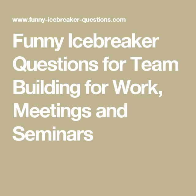 Online icebreakers for adults