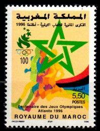 Postes Maroc, Jeux olympiques Atlanta 1996.